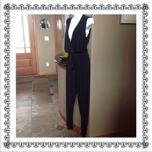 NWT beautiful Catherine Malandrino black jumpsuit!